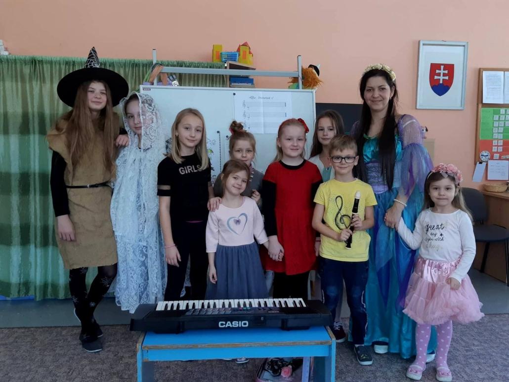 Výchovný koncert pre MŠ Skalité-Kudlov.